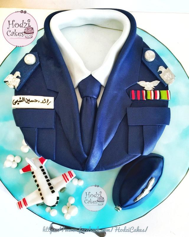 Egyptian Squadron Leader Cake🛩💙