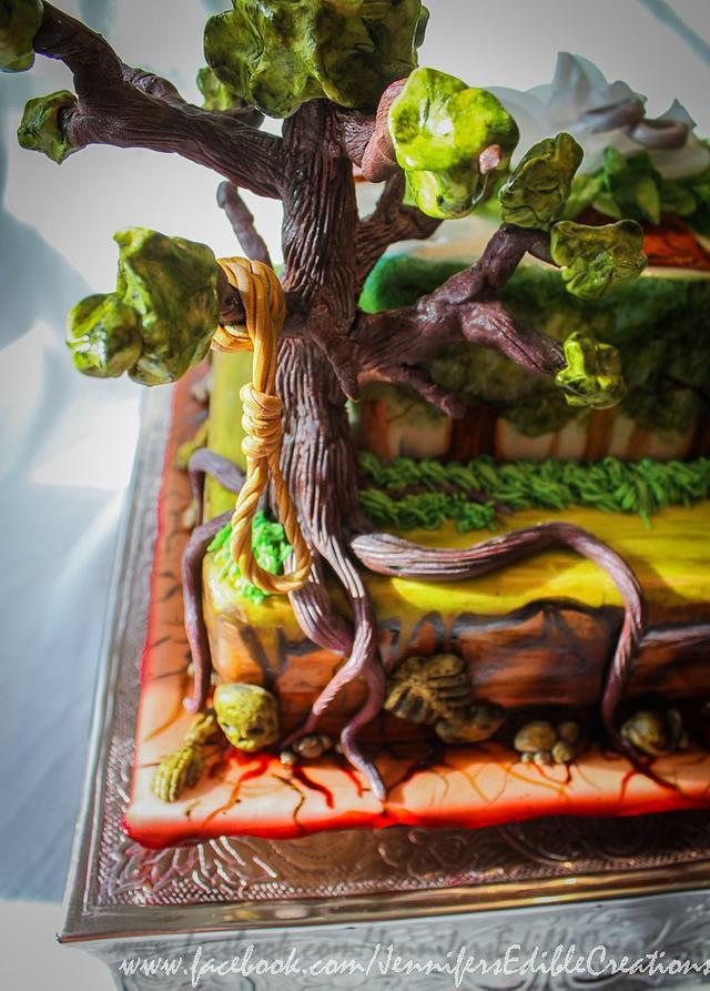 Concept Art Cake