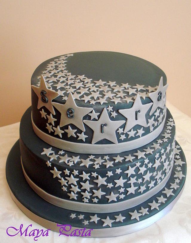 Stars cake