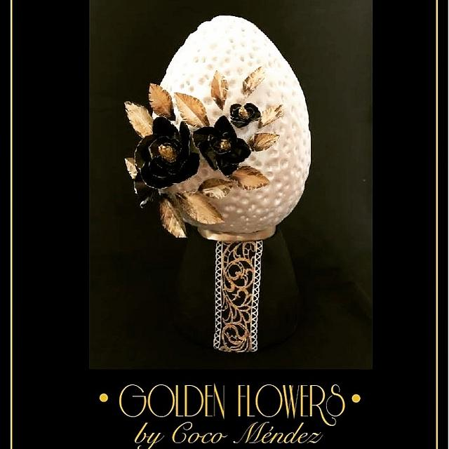 """Golden flowers """"Faberge eggs, 2nd edition"""""""