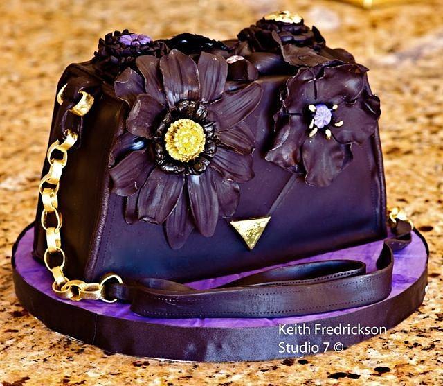 50th Birthday Purse Cake