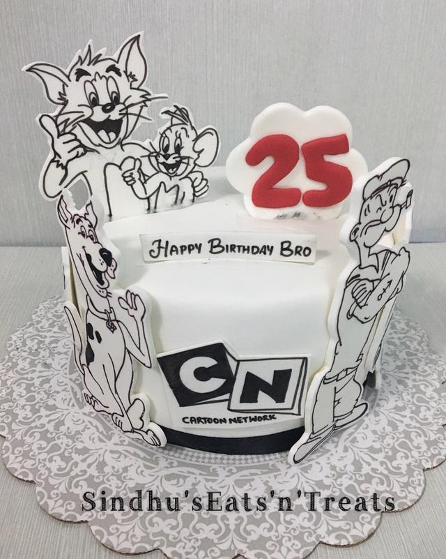 Cartoon Network cake