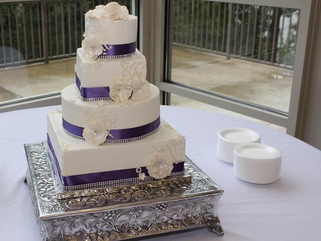 Purple and white fantasy