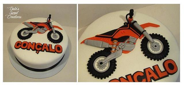 Off Road Bike Cake