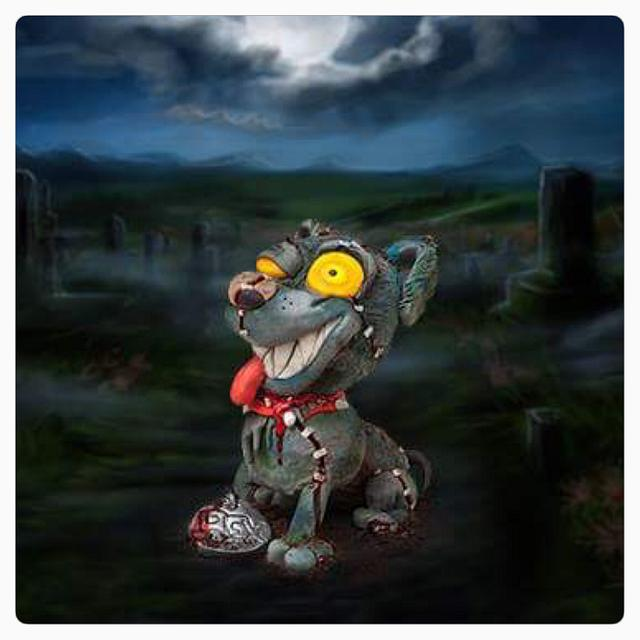 Zombie Rex The Sugar Art Zombies Collaboration