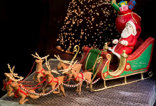 Santa claus cake CPCS Christmas Collaboration