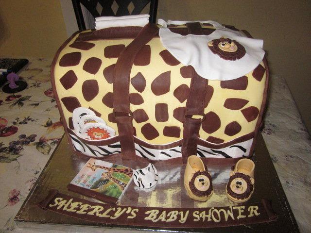 Jungle Theme Diaper Bag