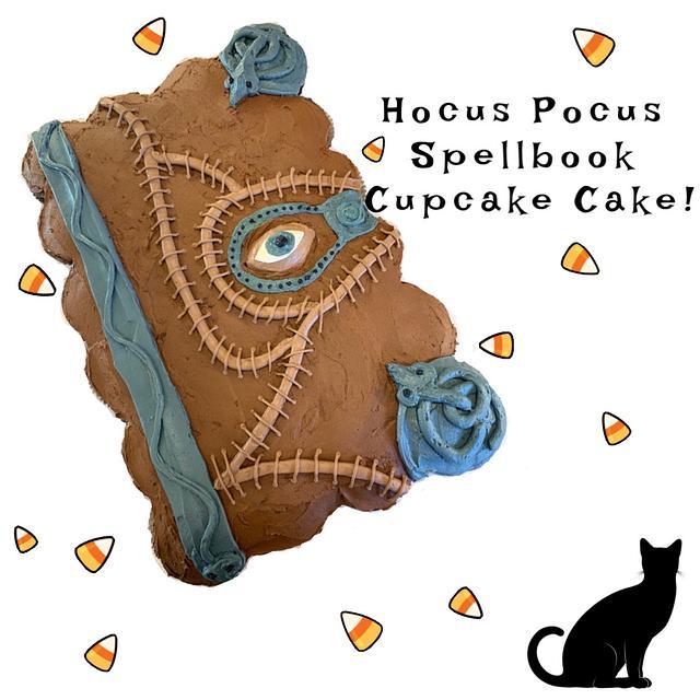 HOCUS POCUS PULL-APART CUPCAKE CAKE!