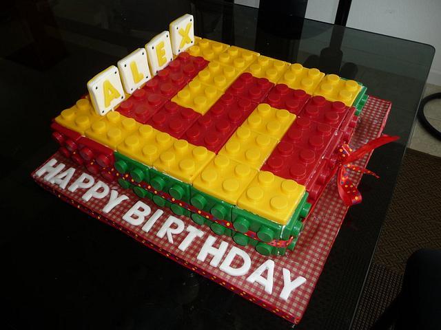 Lego 3D cake