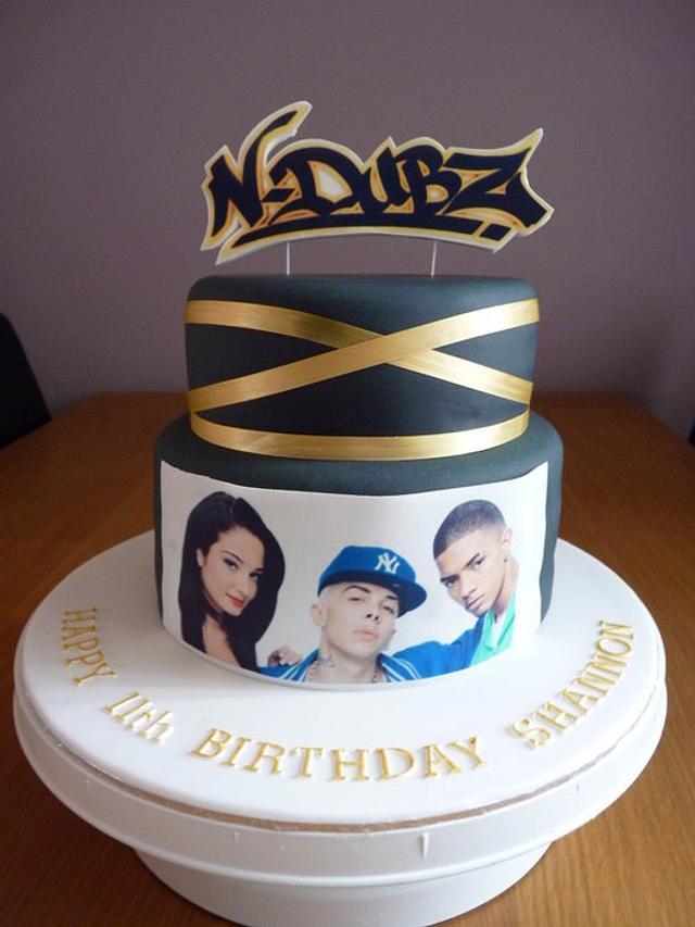 N Dubz cake
