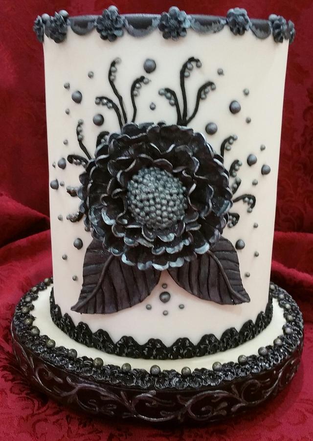 """""""Keepsake"""" cake for a dear friend"""