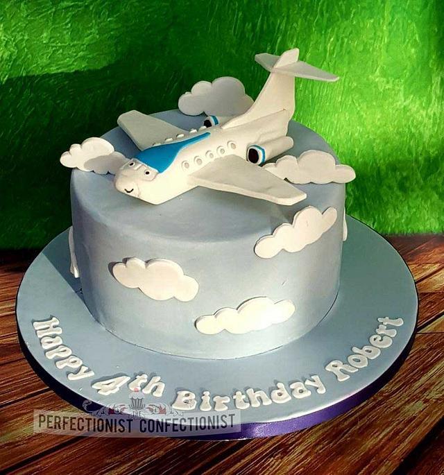 Strange Robert Jeremy The Plane Birthday Cake Cake By Niamh Cakesdecor Funny Birthday Cards Online Unhofree Goldxyz