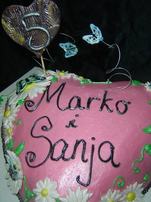 5th wedding anniversary