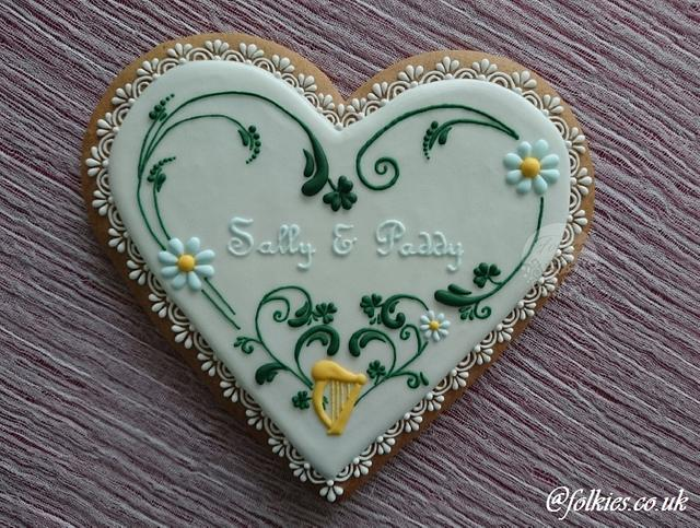 Irish Ginerbread Heart
