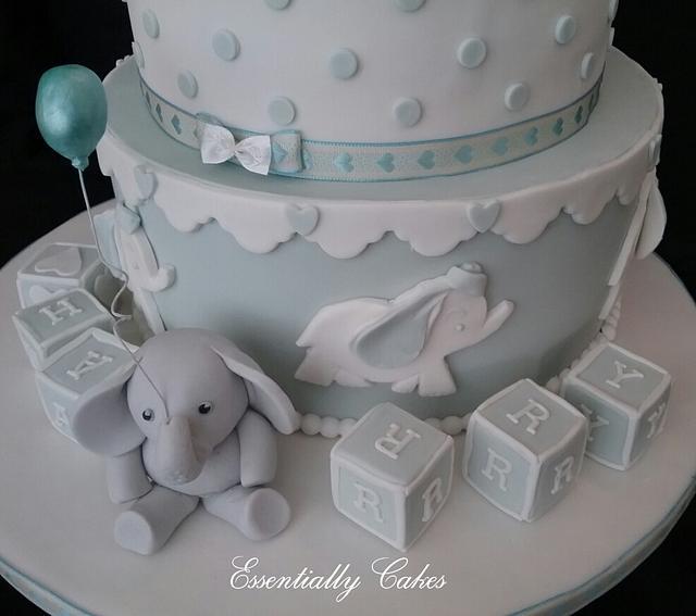 Baby Elephant Christening