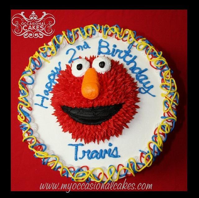 Elmo (TM) cake