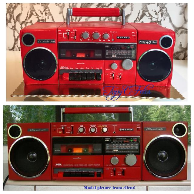 Boombox of the 80s