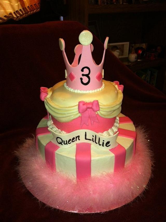 Princess/Queen Cake