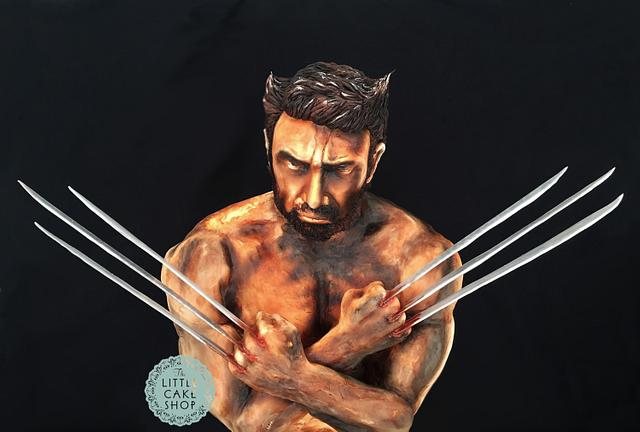Wolverine cake for Cake Con Collab