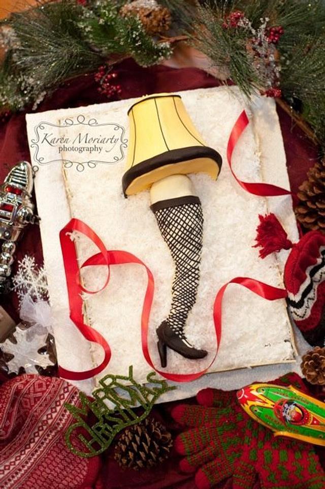 A Christmas Story - Leg Lamp Cake