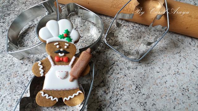 Ginger cooks
