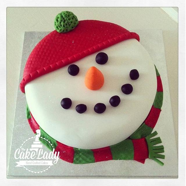 1 hour to decorate a Christmas cake!