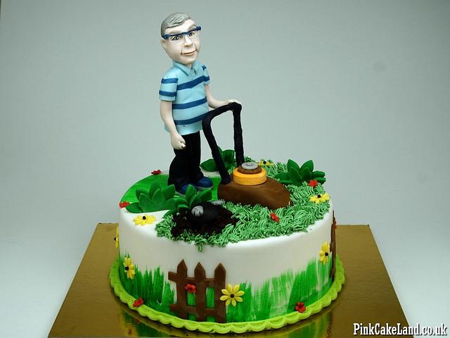 Tremendous 50Th Birthday Cake For Man Cake By Beatrice Maria Cakesdecor Personalised Birthday Cards Veneteletsinfo