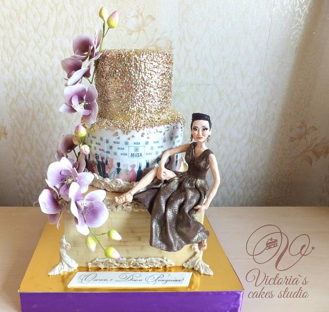 Fashion cake for designer