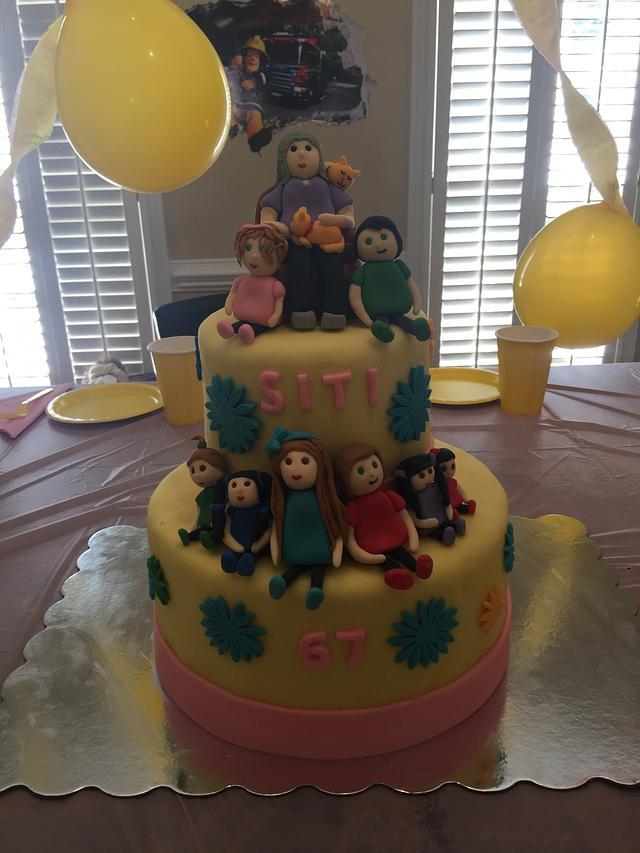 Stupendous Grandma Birthday Cake Cake By Missybloop Cakesdecor Funny Birthday Cards Online Chimdamsfinfo