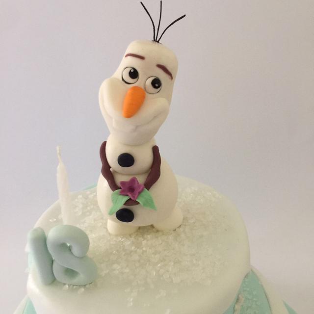 Olaf, the snowman