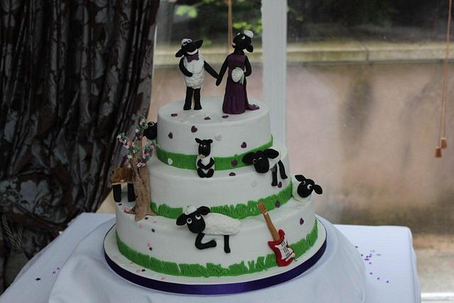 For a couple that love sheep