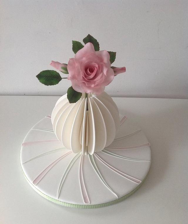 Pastillage vase no2