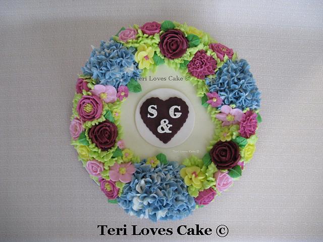 Small Gluten-Free Wedding Cake