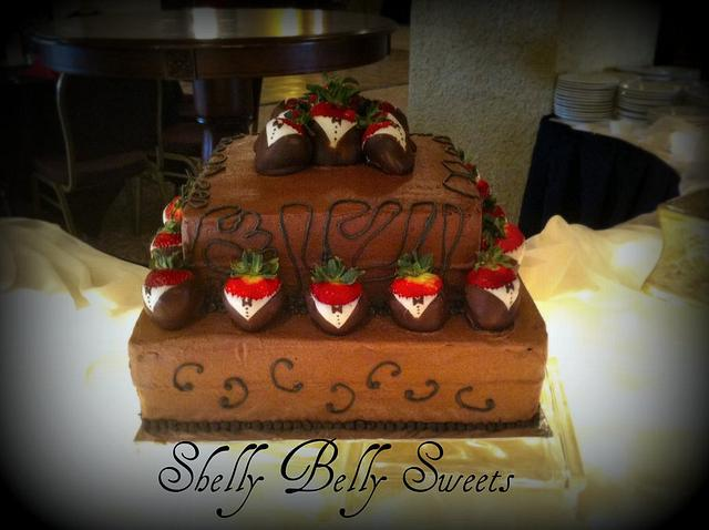 Chocolate Groom's Cake