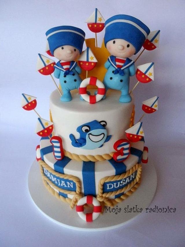 Sailors cake
