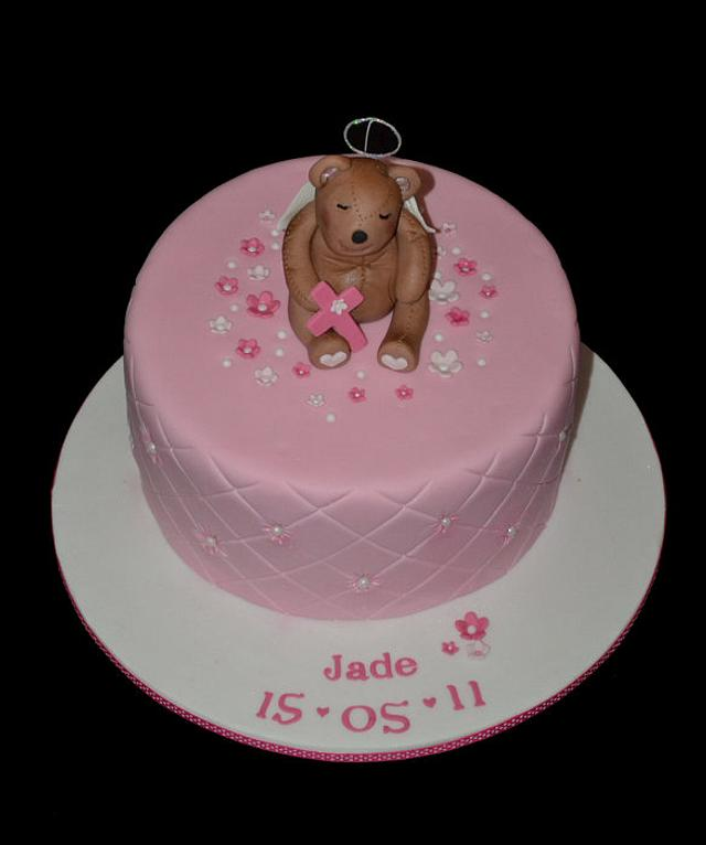 Angel Teddy Cake