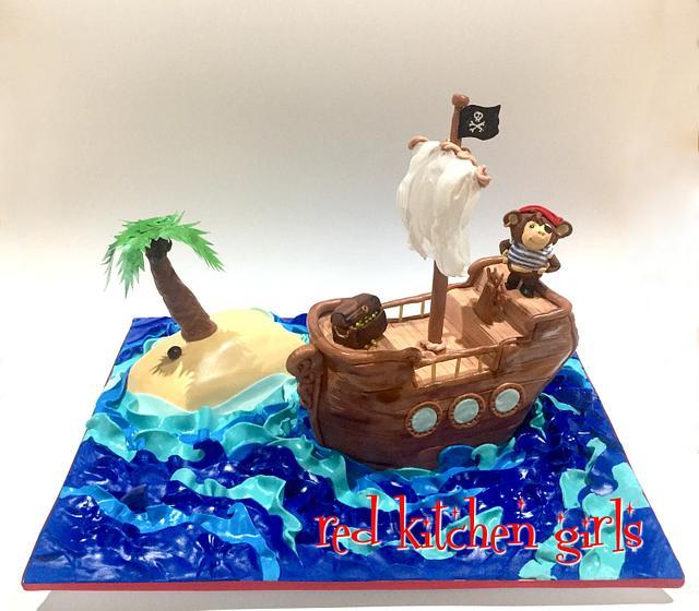 Arrrr.. Monkey Pirate Ahoy!