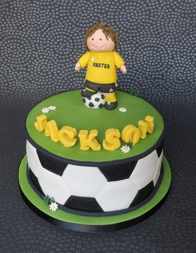 Football/Soccer Cake