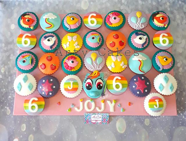 My little pony cupcakes by Arty cakes