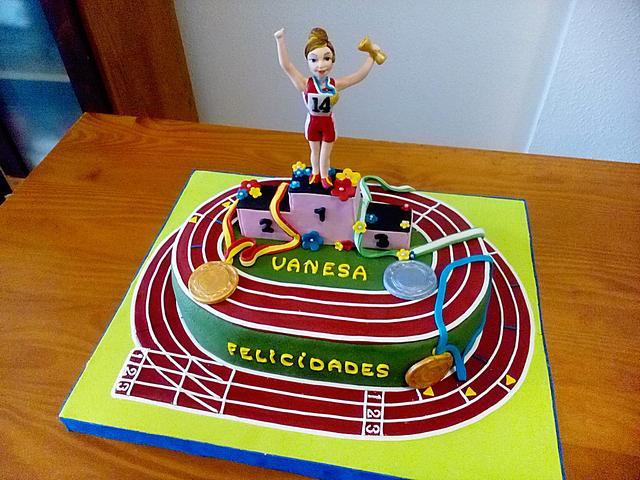 ATLETICS CAKE