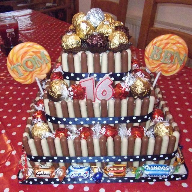 The Willy Wonka Cake