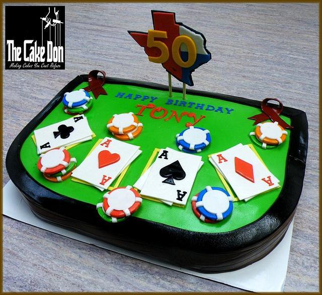 THE TEXAS HOLD EM' CAKE