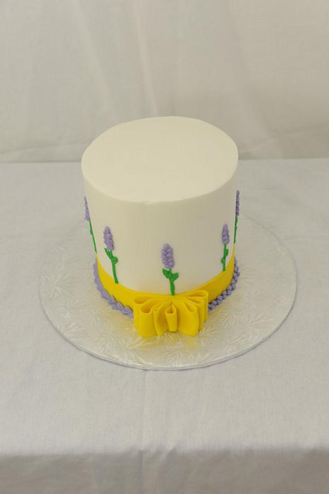 Lavender and Lemon Easter Cake