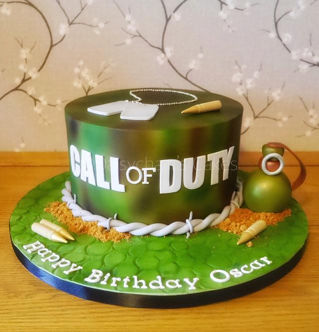 Pleasant Call Of Duty Cake Cake By Daisychains Cakes Cakesdecor Funny Birthday Cards Online Inifodamsfinfo