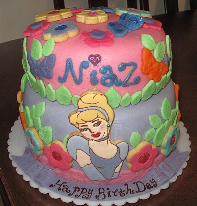Groovy 6Th Birthday Cake Niaz Cake By Maryam Imani Cakesdecor Funny Birthday Cards Online Barepcheapnameinfo