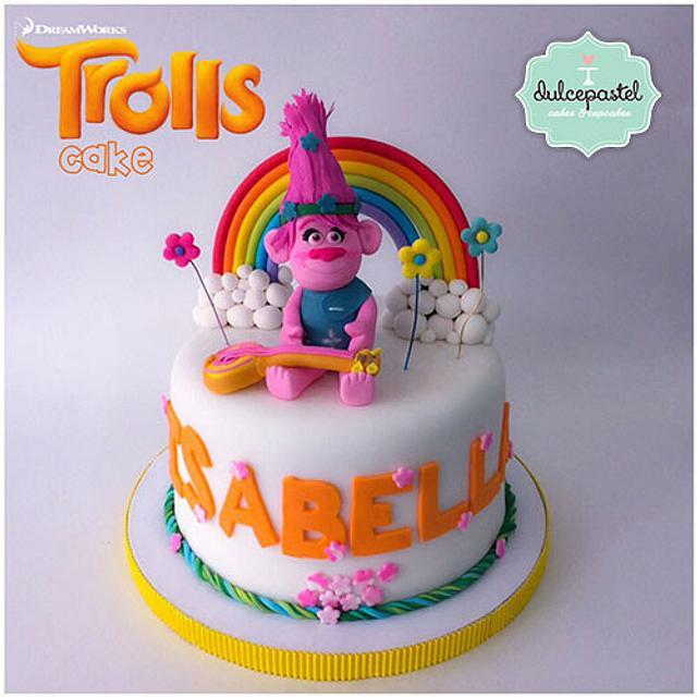 Torta Trolls Cake