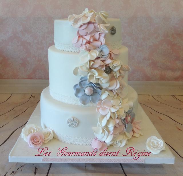 My latest wedding cake