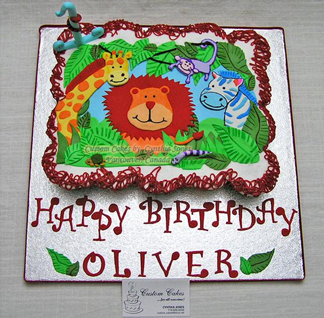 Cupcakes for Oliver!