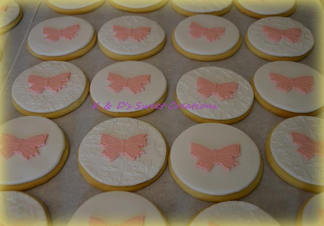 Baptism and birthday cookies