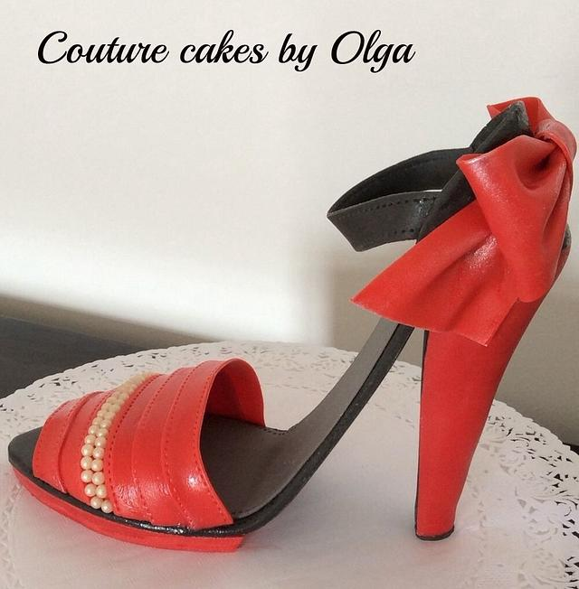Shoe from couture!
